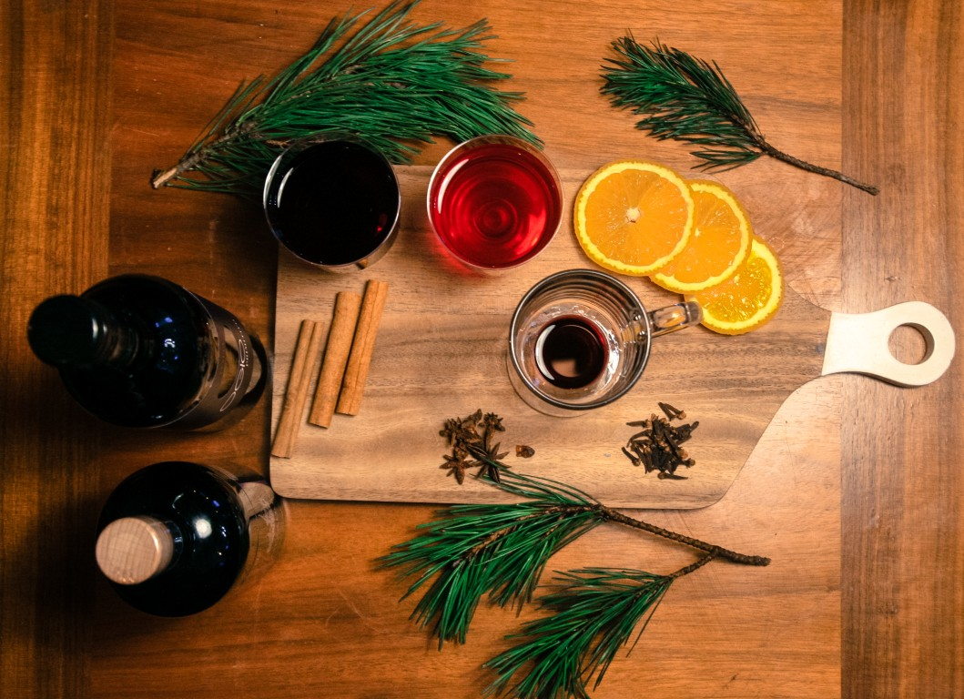 aromātisks un sildošs dzēriens solis divi