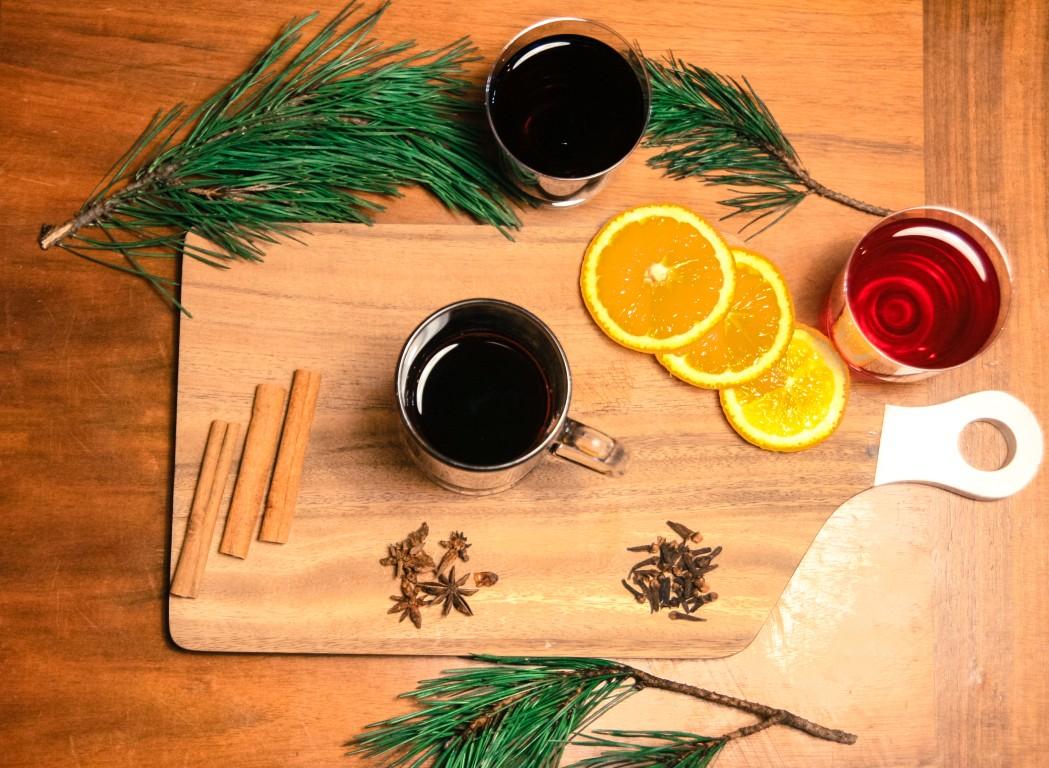 aromātisks un sildošs dzēriens solis tris