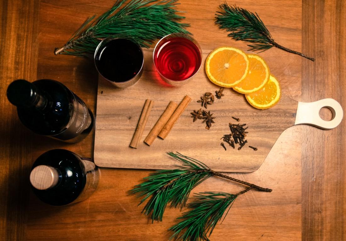 aromātisks un sildošs dzēriens solis viens